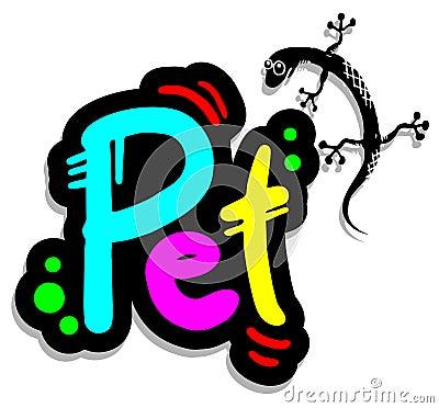 Colorful pet