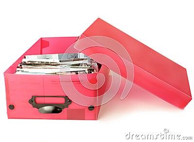 Colorful photo box