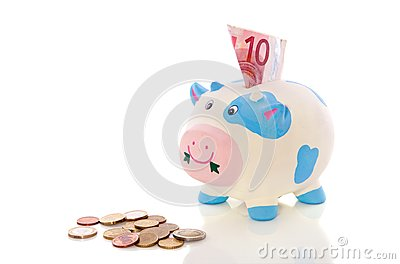 Colorful piggybank