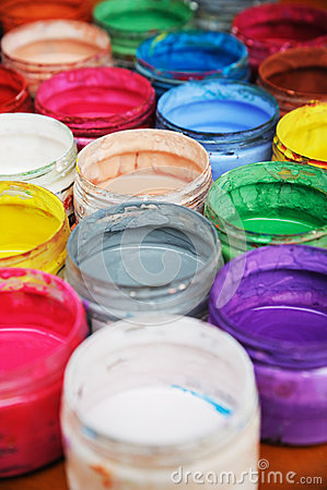 Colorful pigment