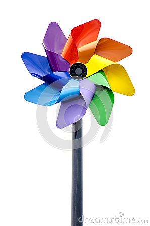 Free Colorful Pinwheel Royalty Free Stock Images - 45105389