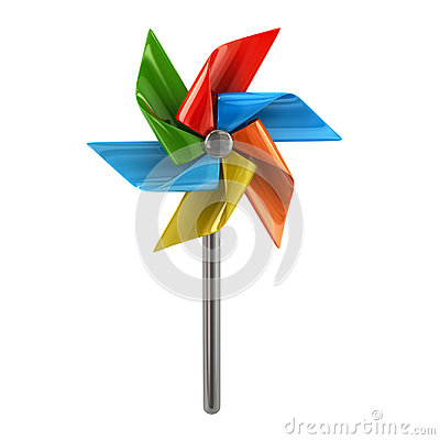 Free Colorful Pinwheel Royalty Free Stock Photo - 98801265