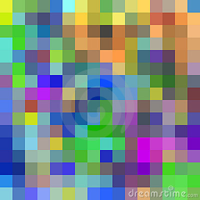Colorful pixels background.