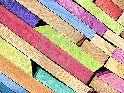 Colorful Planks