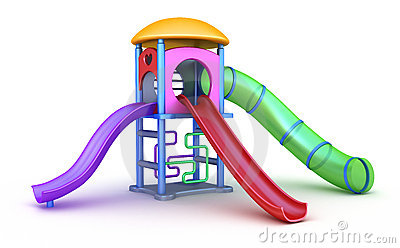 Colorful playground for childrens.