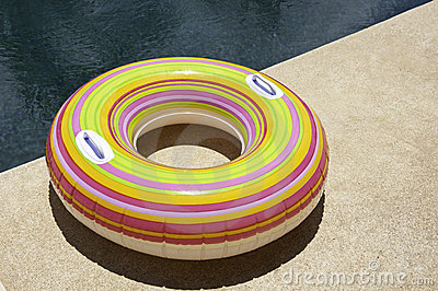 Colorful Pool Tube