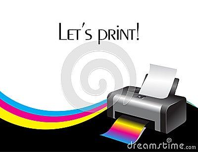 Colorful printer