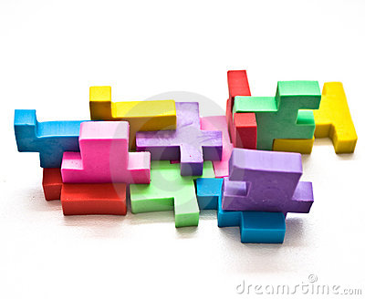 Colorful Puzzle Royalty Free Stock Photos - Image: 8011668