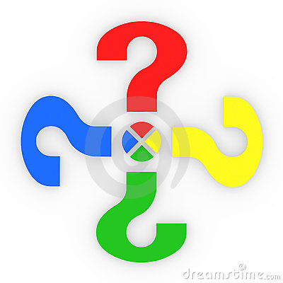 Colorful Question Marks Share