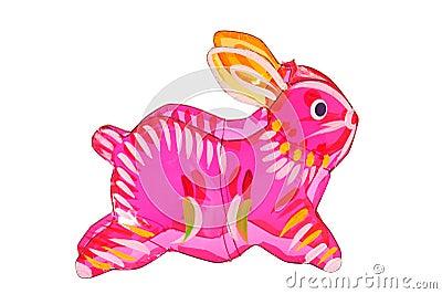Colorful Rabbit Lantern