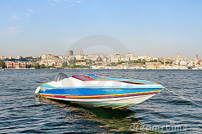 Colorful Race Boat