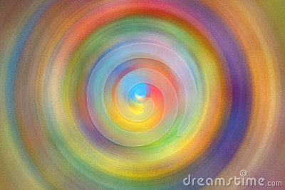 Colorful radial spin abstract background
