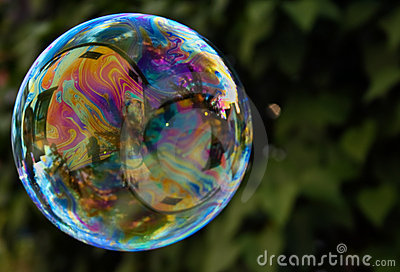 Colorful Rainbow Bubble II