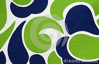 Colorful Retro Cotton Fabric