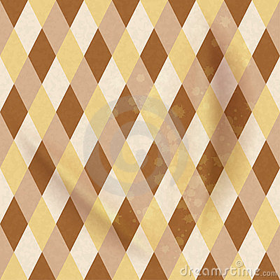 Colorful Rhombus, Seamless pattern