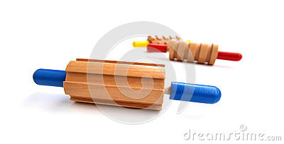 Colorful rolling pins