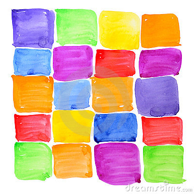 Free Colorful Rough Paint Samples. Abstract Background. Royalty Free Stock Images - 15925889