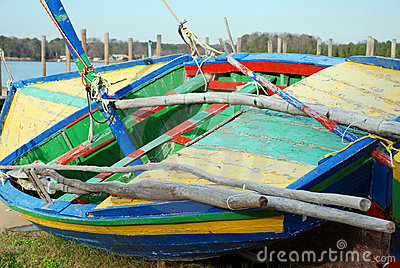 Colorful Sail Boat