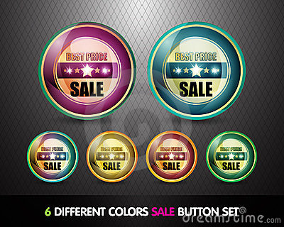 Colorful Sale  Best Price  Button Set
