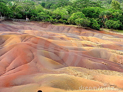 Colorful Sand