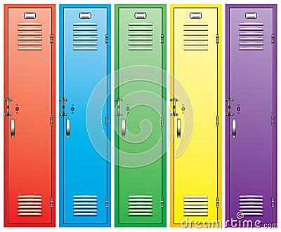 Open School Locker Stock Illustrations – 69 Open School Locker ...