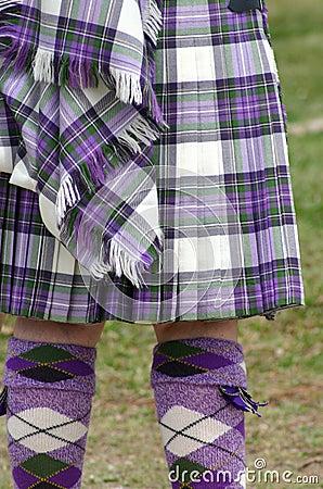 Colorful Scottish Tartan
