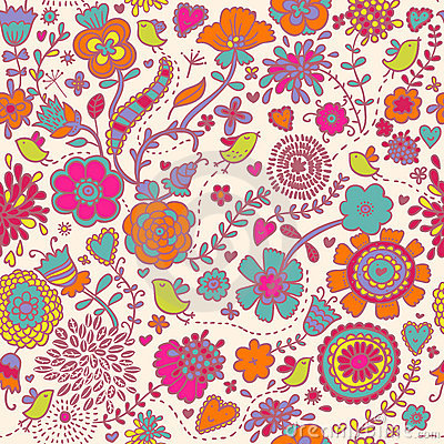 Free Colorful Seamless Pattern Stock Images - 8725204