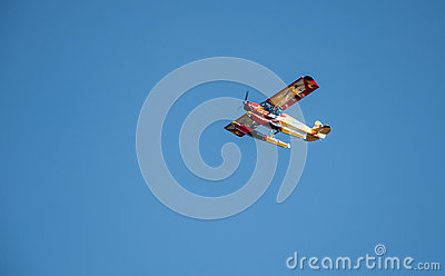 Colorful seaplane