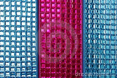 Colorful sequins macro closeup texture background