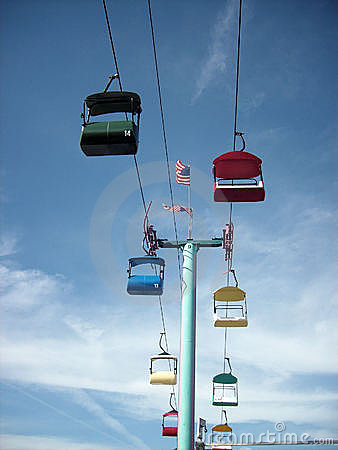 Colorful Sky Buckets