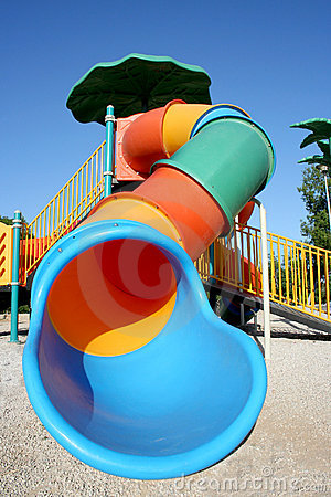 Free Colorful Slide Royalty Free Stock Photo - 13073995