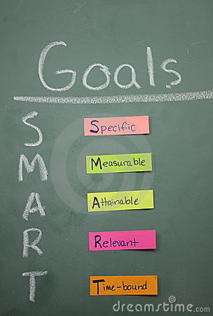 Free Colorful Smart Goals Stock Photography - 11474362