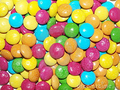 Colorful smarties
