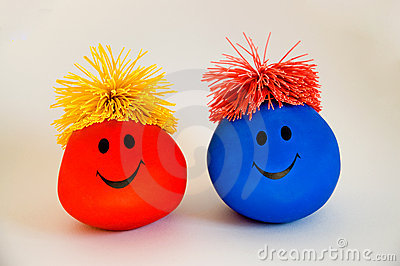 Colorful Smiley Faces-2