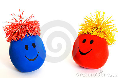 Colorful Smiley Faces-3