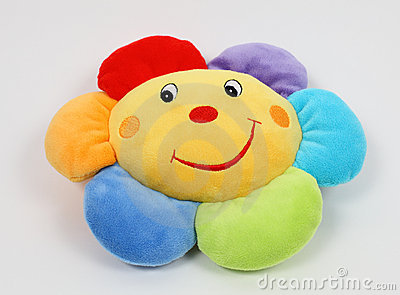 Colorful soft pillow