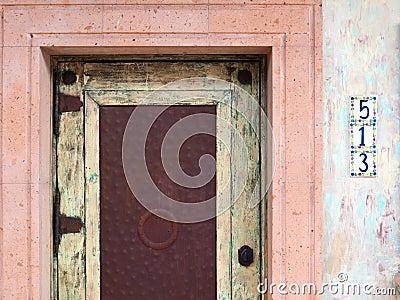 Colorful Southwestern doorway