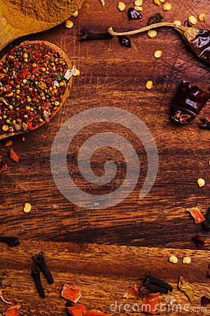 Free Colorful Spices Stock Image - 51881821