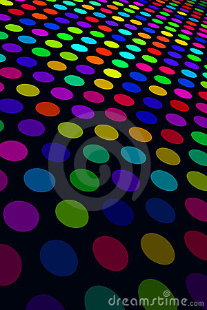 Free Colorful Spot Pattern Royalty Free Stock Photography - 7805357