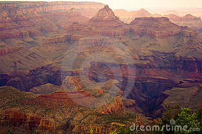 Colorful Spring Grand Canyon View