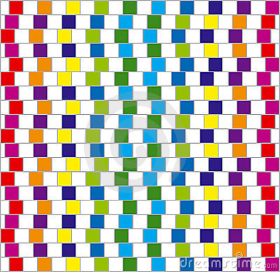Free Colorful Squares. Vector. Royalty Free Stock Images - 8140699