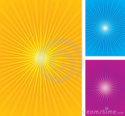Free Colorful Star Burst Background Stock Photo - 9650700