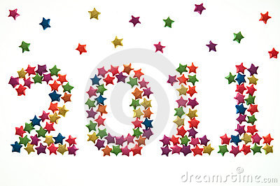 Colorful of Star sort number of year