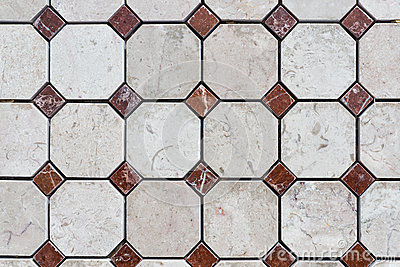 Colorful stone tiles pattern