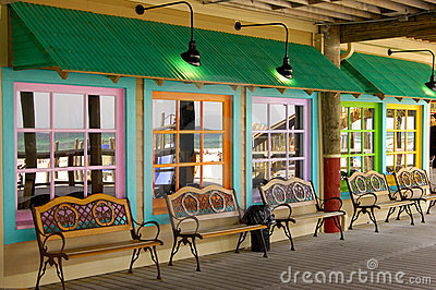 Colorful Store Front