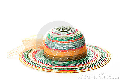 Colorful straw hat # 2