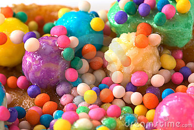 Colorful Sweet Candy Balls