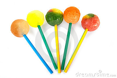 Colorful Sweet Lollipops Stock Photo - Image: 10484780