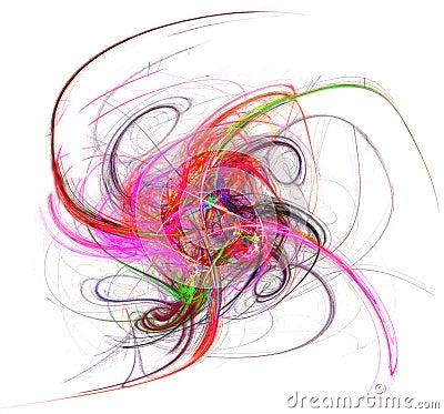 Colorful swirl