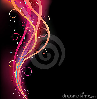 Free Colorful Swirl Ribbon Royalty Free Stock Photo - 6448615
